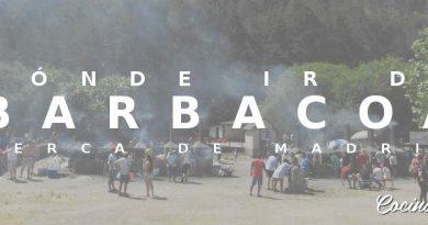 Dónde hacer barbacoa cerca de Madrid
