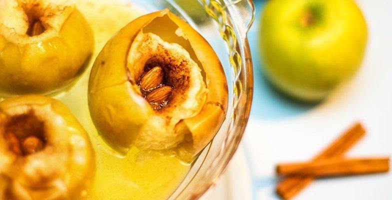 Formas de Cocinar Manzanas: Manzanas Aasadas