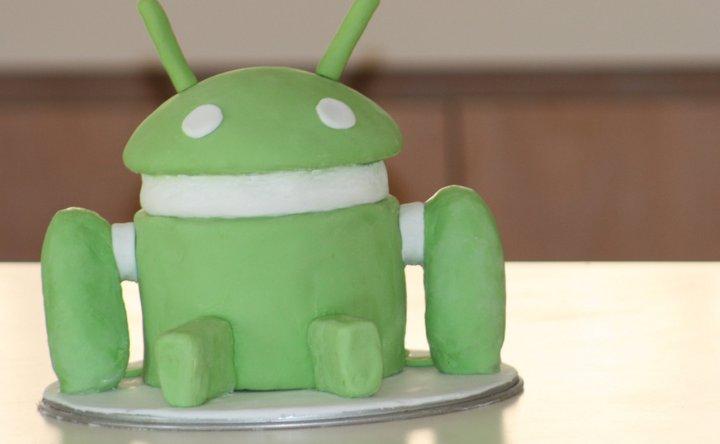 Tarta de Cumpleaños Android