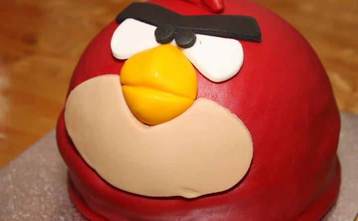 Tarta de Cumpleaños Andry Birds