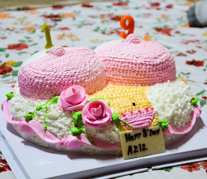 Tarta de Cumpleaños Cuerpo de Mujer,