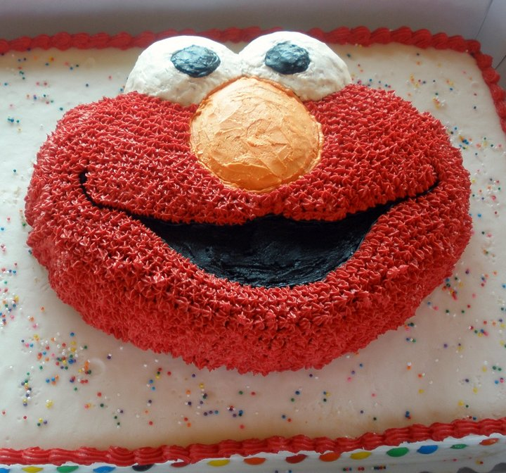 Tarta de Cumpleaños Elmo