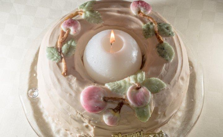 Tarta de Cumpleaños Manzanas