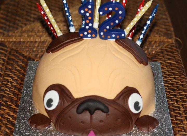 Tarta de Cumpleaños Perrito