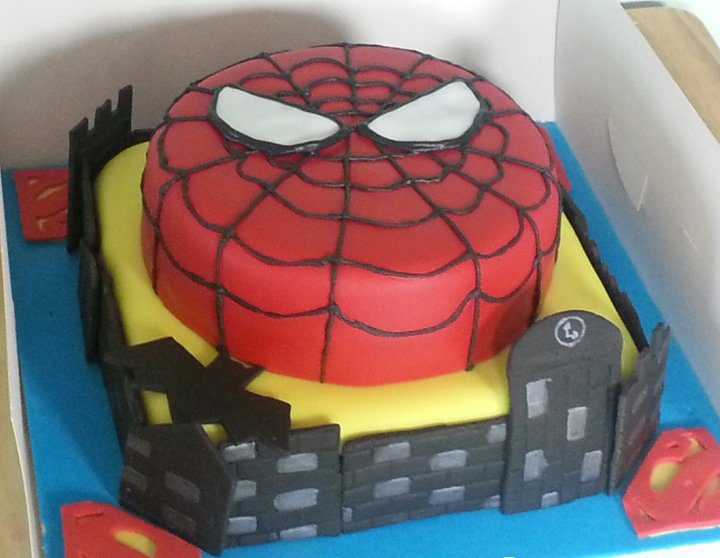 Tarta de Cumpleaños Spiderman