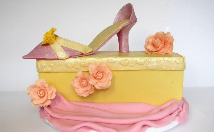 Tarta de Cumpleaños Zapato