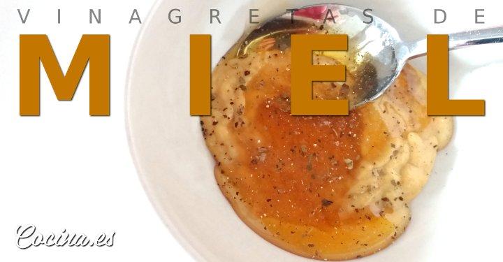 5 vinagretas de miel f ciles y ricas for Cocina facil y rica