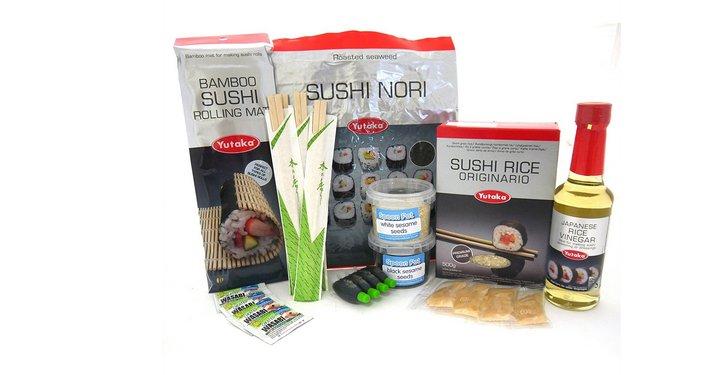 Kit Básico de ingredientes para hacer Sushi