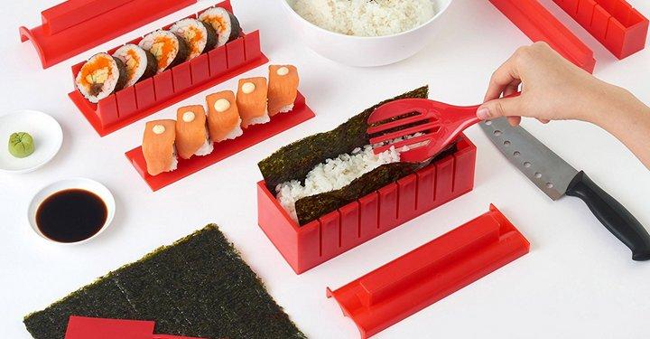 Kit básico para hacer y servir Sushi