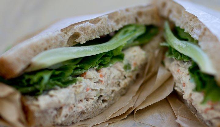 Recetas de Sándwiches - Sándwich de Atún