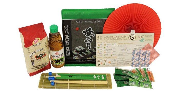 Kit Sushi de Comida + Esterilla para enrollar