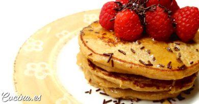 Tortitas de Avena y Plátano sin Huevo - Receta Fácil