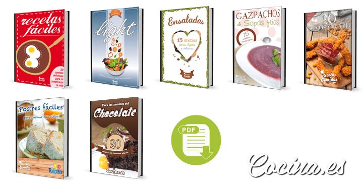 10 Libros de Cocina para Principiantes para Descargar GRATIS en PDF