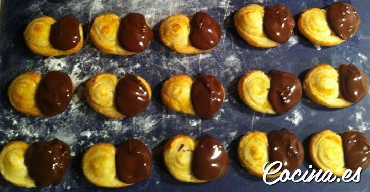 Bollería Casera para Niños: Palmeritas de Chocolate