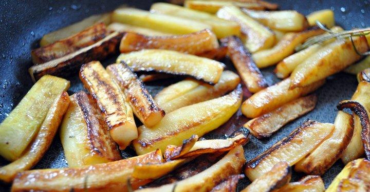 Guarniciones para Pescado - Falsas Patatas Fritas
