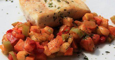 Guarniciones para Pescado - Pisto de Verduras y Hortalizas