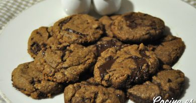 Recetas de Galletas Caseras - Galletas Cookies de Chocolate