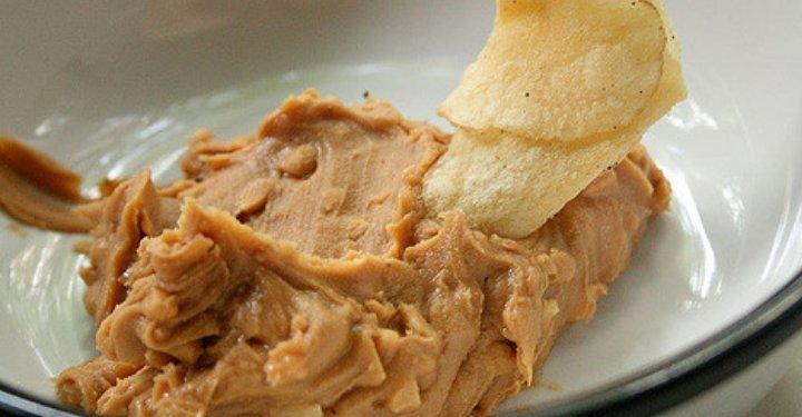 Recetas con Queso Crema - Dip de Queso Crema y Atún