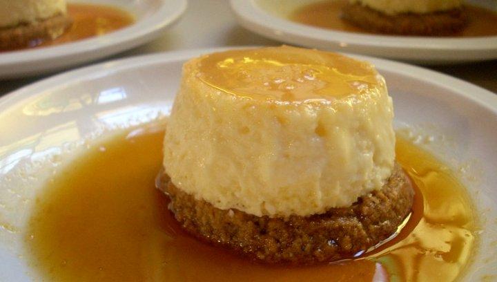 Recetas con Queso Crema - Tarta de Queso Crema con Naranjas