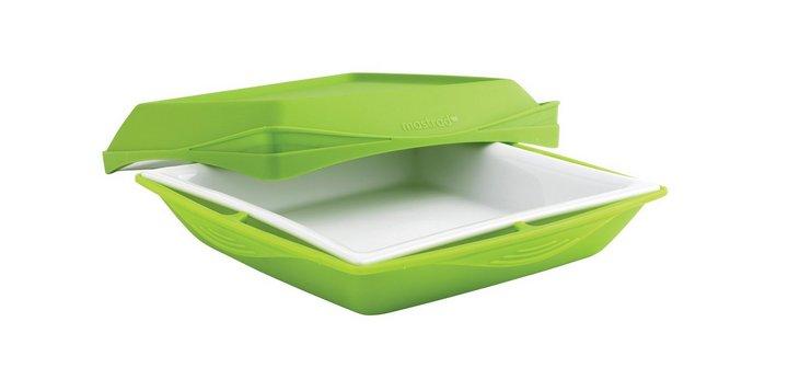 Recipientes para cocinar en Microondas al Vapor - Recipiente para cocinar al Vapor de Porcelana y Silicona Mastrad