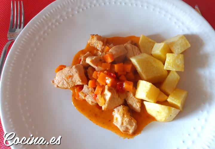 Estofado de Pavo con Patatas - Receta