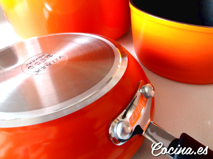 Vitrex Naranja - Ollas y Sartenes