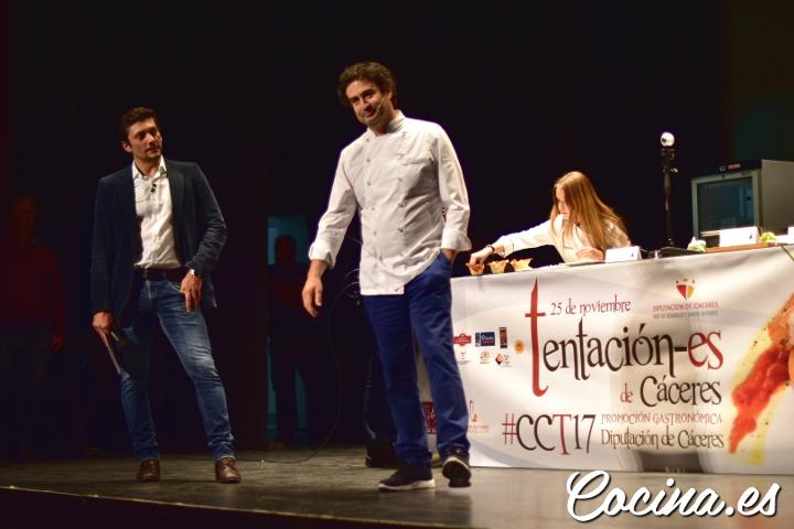 Tentación-es 2017 Cáceres: Pepe Rodríguez Masterchef