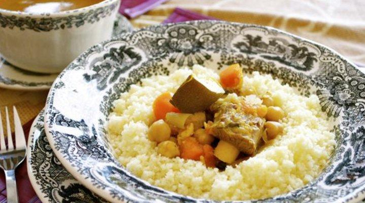 Recetas de Comida Marroquí - Cuscús de las Siete Verduras