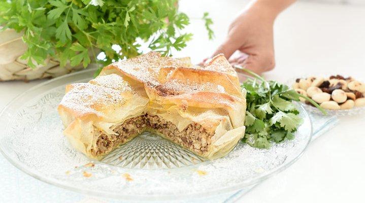 Recetas de Cocina Marroquí - Pastela de Pollo