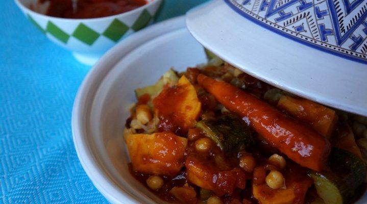 Recetas de Comida Marroquí - Tajín de Verduras
