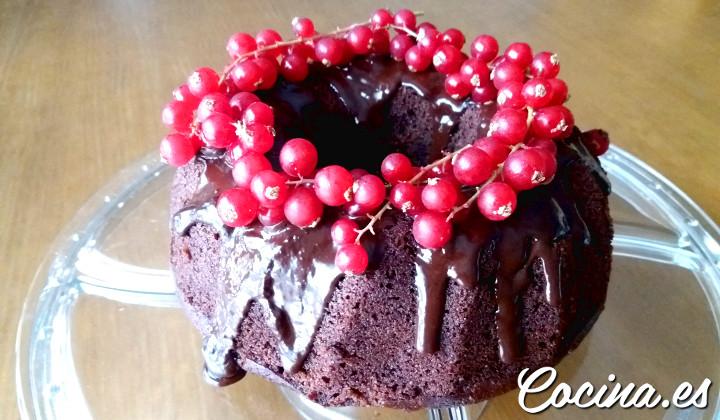 Bizcocho Esponjoso de Chocolate - Receta