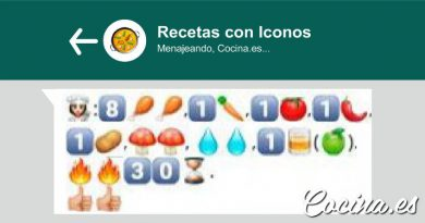 Recetas de Cocina con Emoticonos