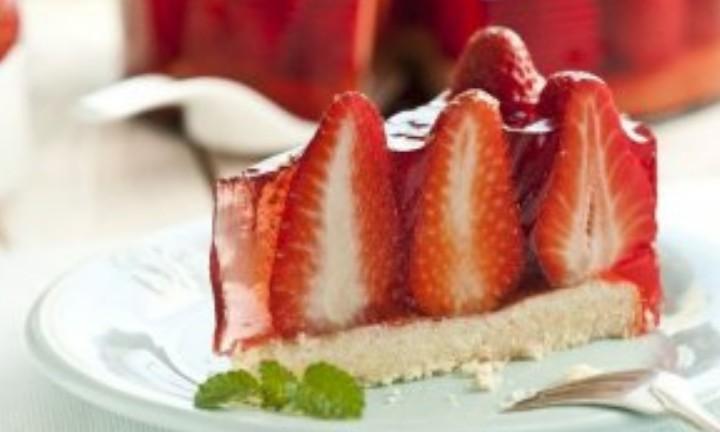 Postres con Fresas Fáciles y Rápidos - Tarta de Fresas Fácil