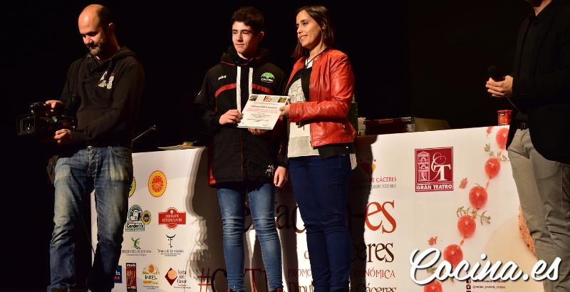 Gala Tentación-es de Cáceres 2018 - Ganador Concurso Paisajes Gastronómicos