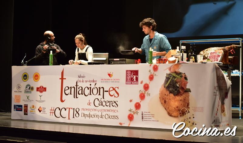 Gala Tentación-es de Cáceres 2018 - Jorge Brazález y Miri, MasterChef 5