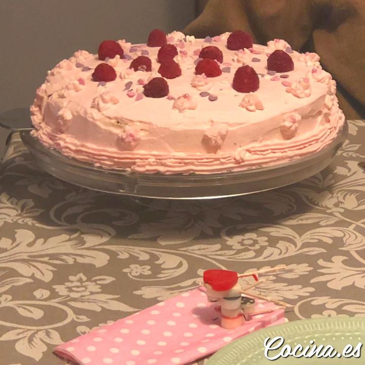 Tarta de Cumpleaños para Niñas Fácil y Bonita