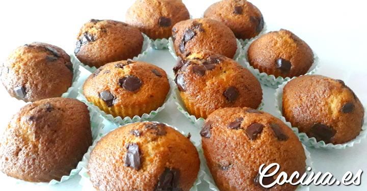 Cómo hacer Muffins de Chocolate