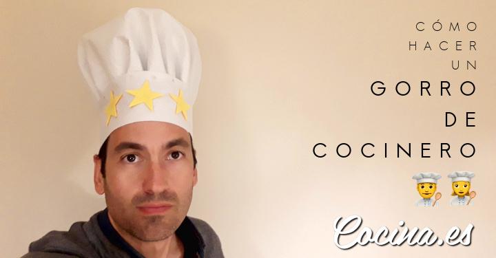 Cómo hacer un Gorro de Cocinero