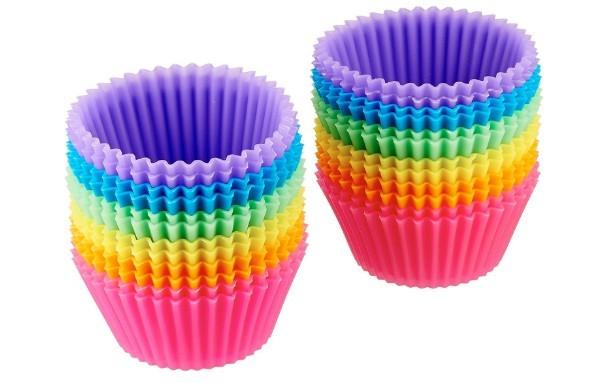 Moldes de silicona para Muffins o Magdalenas
