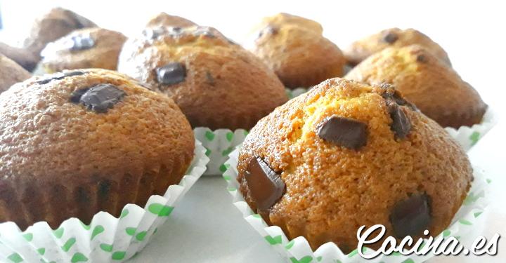 Muffins de Chocolate y Vainilla Americanos