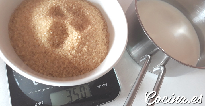 Leche condensada casera: ingredientes